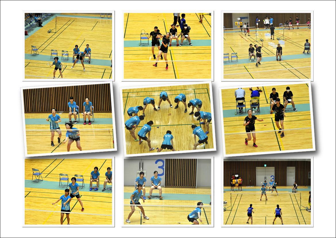 バド 県民スポーツ祭 アベックV | 福井県立勝山高等学校